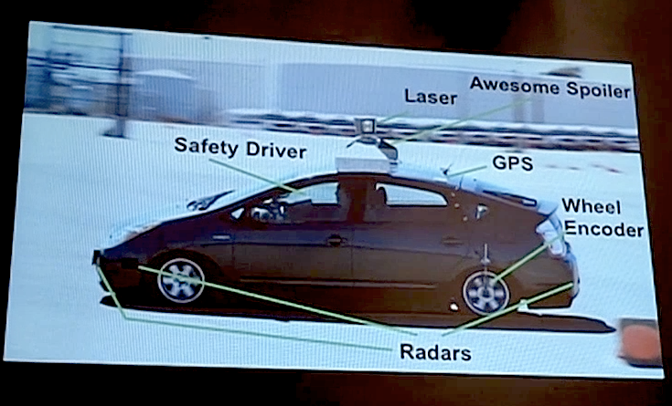 google self driving car systems