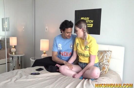 Team India fan fucks Aussie ASS - Niksindian Porn Video