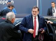 Mariano Rajoy llega alConsejo Europeo que se ha celebrado este jueves en Bruselas.