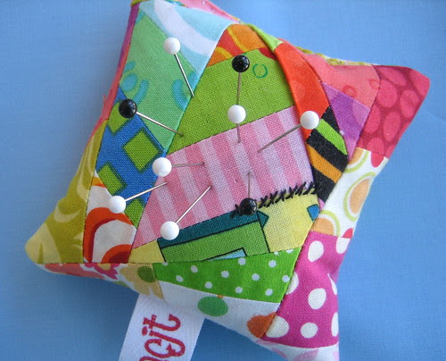 Real Scrappy Pincushion