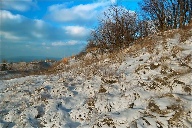West Beach Snow