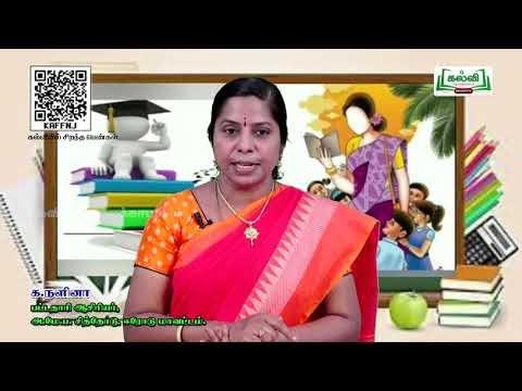 9th Tamil  உரைநடை உலகம் பகுதி 02 கல்வியிற் சிறந்த பெண்கள்  இயல் 5 Part 2 Kalvi TV