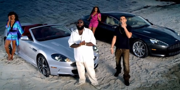 Rick Ross Aston Martin Music Ft Drake And A Bunch Of Aston Martins Celebrity Cars Blog
