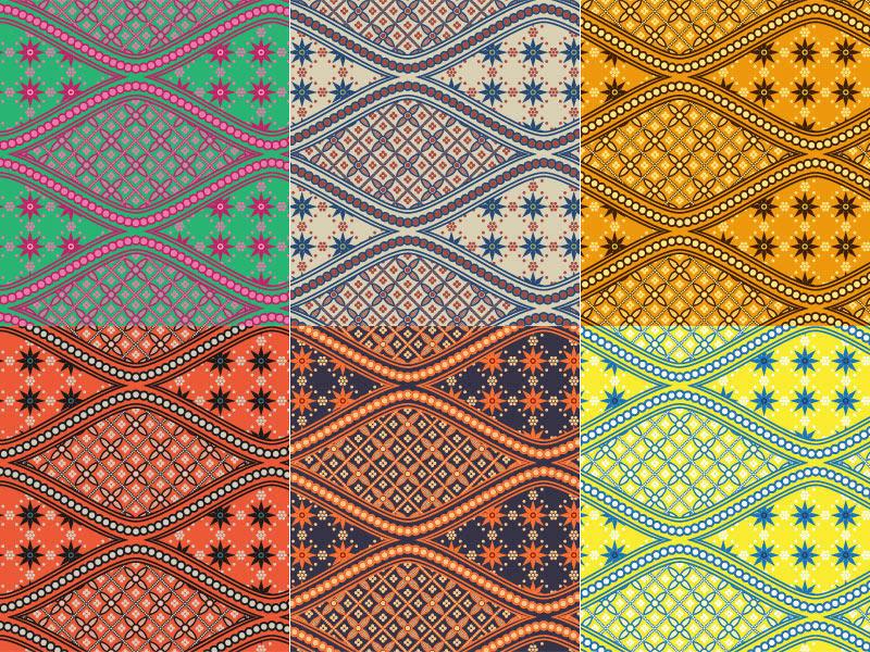 Indonesian Batik Patterns by clickpopmedia on DeviantArt