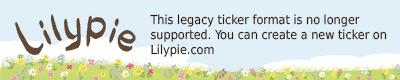 Lilypie 6th Birthday Ticker
