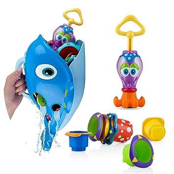Nuby Bath Toy Gift Set