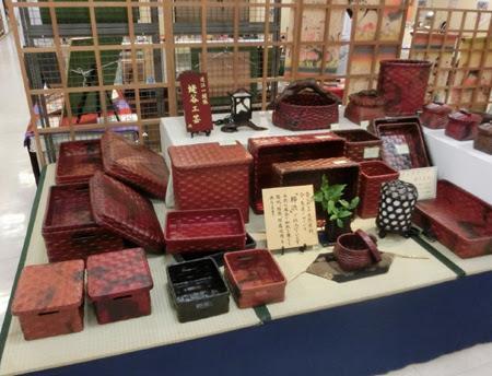 松菱 職人展,松菱 あけび細工,松菱 万華鏡,日本のほうき