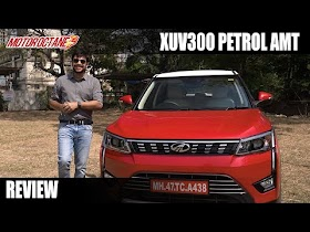 Mahindra XUV300 Petrol AMT Review - Can't miss