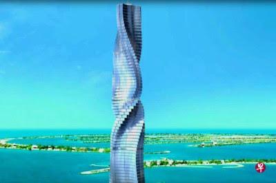 杜拜计划兴建一幢全新旋转式酒店。