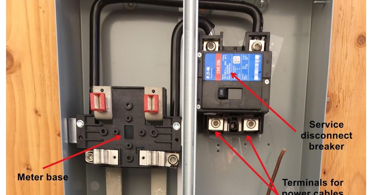 Meter Base Wiring Diagram