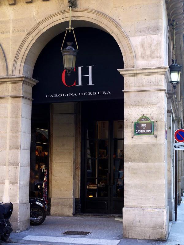 Boutique CH Carolina Herrera - 10 rue de Castiglione Paris .4