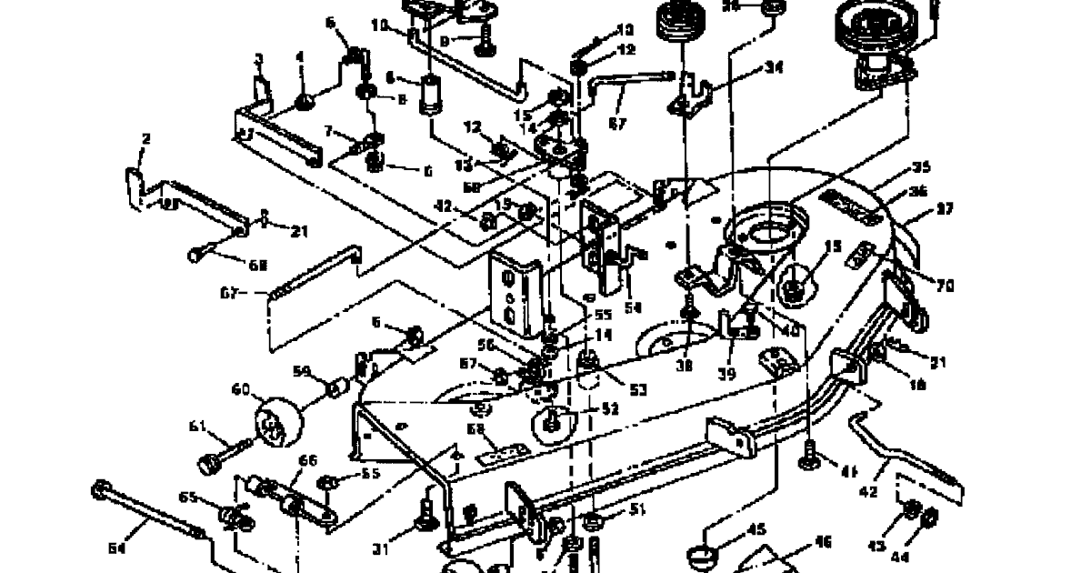 John Deere 62c Mower Deck Belt Diagram