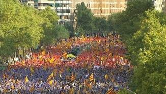 Diada de l'ANC el 2015 a Barcelona