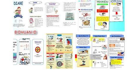 leaflet diare pengertian  tujuan pemberian leaflet