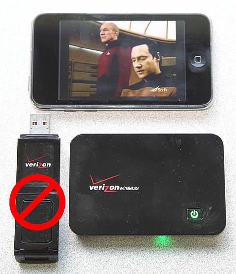 Using Verizon MiFi to watch TV