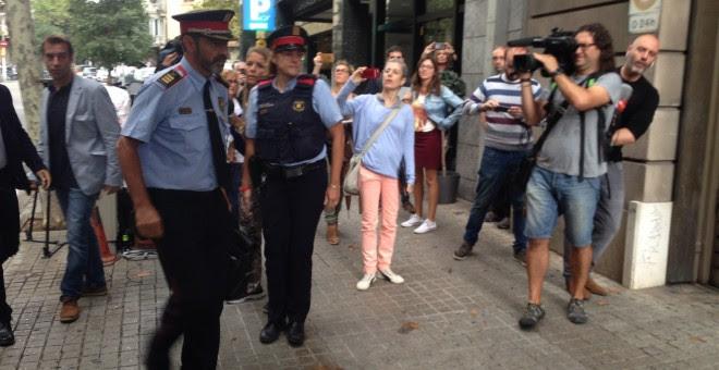 El mayor de Mossos J.L.Trapero llega a Fiscalía Superior de Catalunya / EUROPA PRESS