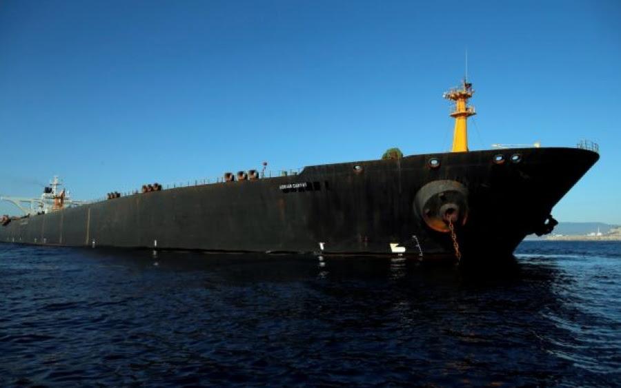 ΗΠΑ: Ανοιχτά της Ταρτούς στην Συρία το ιρανικό δεξαμενόπλοιο Adrian Darya 1