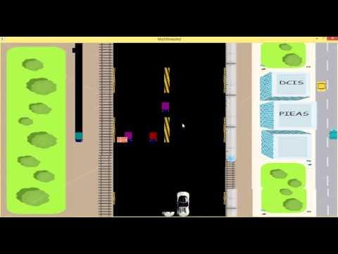 Car Racing Game made in C/C++