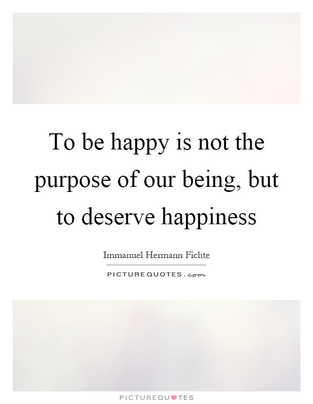 Deserve To Be Happy Quotes Sayings Deserve To Be Happy Picture