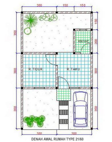 97+ Ide Denah Rumah Indonesia Populer