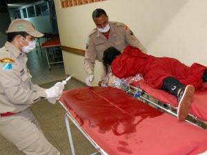 Índia teve corpo queimado (Foto: Eliel Oliveria / Diário MS)