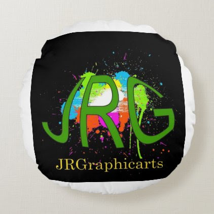 JRGraphicarts Round Pillow