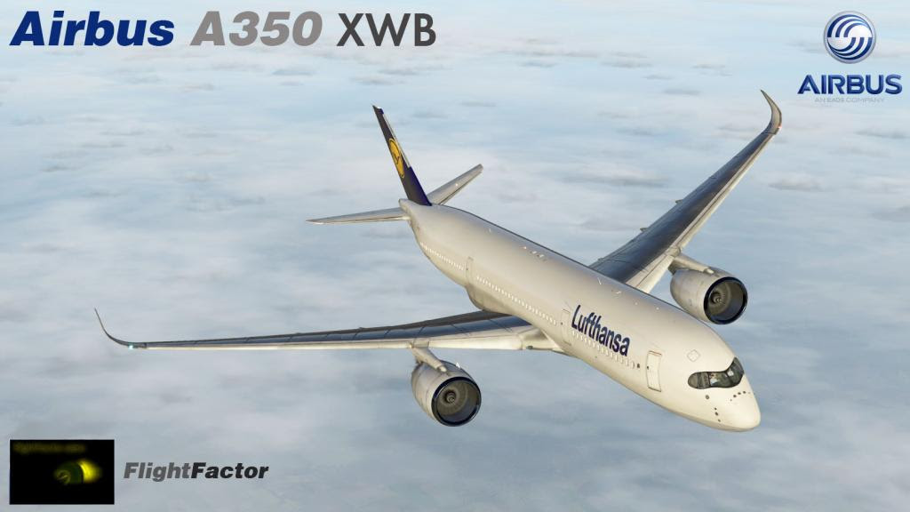 FlightFactor Airbus A350 XWB v1 4 3 (X-Plane 10&11) - Ariel Creation