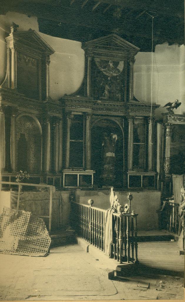 Convento de las Concepcionistas destruida en la Guerra Civil. Fotografía de Pelayo Mas Castañeda. Causa de los mártires de la persecución religiosa en Toledo