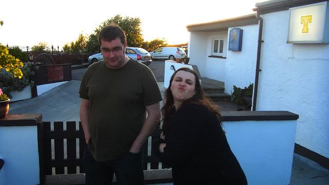 Egor and Lee at the Furan.