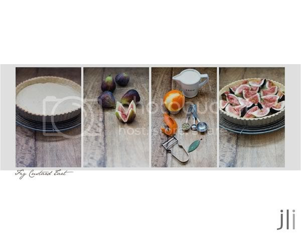 fig custard tart,brigitte hafner,jillian leiboff imaging,sydney,food photography,baking