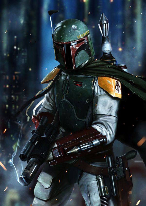 Boba Fett artwork #4.