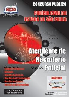 Polícia Civil / SP IV-ATENDENTE DE NECROTÉRIO POLICIAL