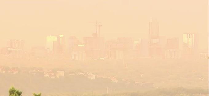 Llega a América la gran nube de polvo 'Godzilla' formada en el Sáhara
