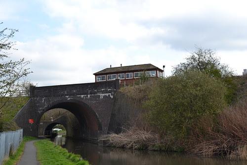Droitwich Spa Railway Bridges & Signal box, Droitwich Spa