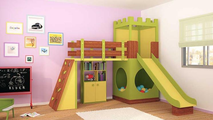 Cómo decorar la casa: Dormitorios de juegos infantiles