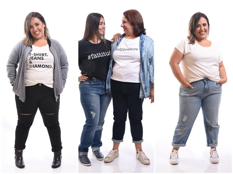 Resultado de imagem para jeans clamarroca plus