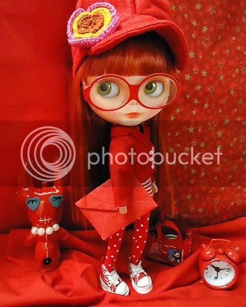 red blythe doll