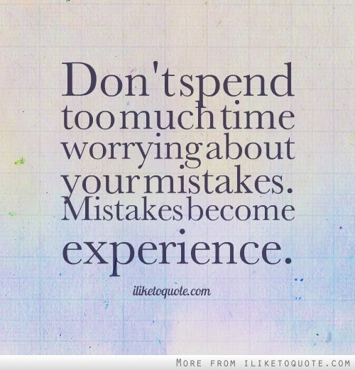 Quotes Tagged Under Mistakes