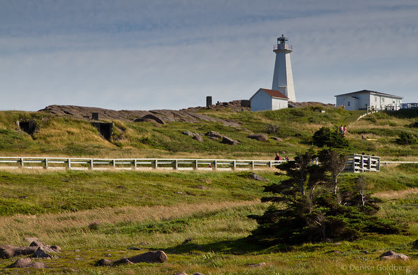 late afternoon light, Cape Spear lighthouse