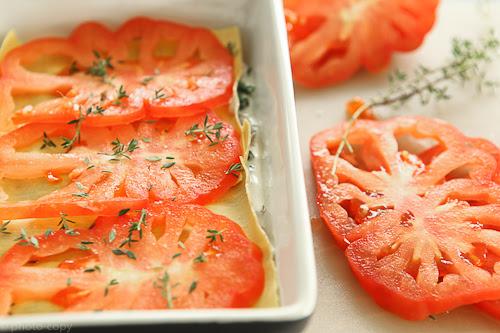 veggie lasagna tutorial