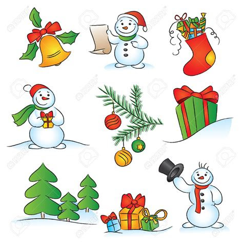 christmas themes clipart   cliparts