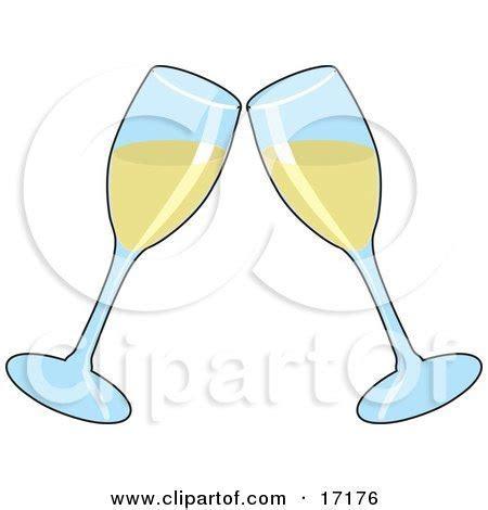 Clipart Retro Woman Raising Her Wine Glass To Toast
