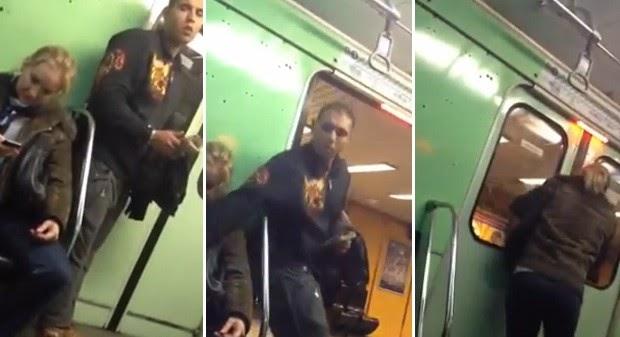 Passageiro filma momento em que ladrão rouba iPhone no metrô