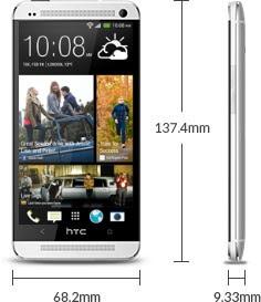 Kết quả hình ảnh cho HTC ONE M7