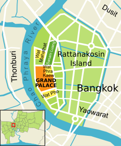 Location Map of Chakri Maha Prasat Hall - Grand Palace Bangkok Thailand,Chakri Maha Prasat Hall - Grand Palace Bangkok Location Map,Grand Palace Bangkok Chakri Maha Prasat Hall Accommodation Destinations Attractions Hotels Map