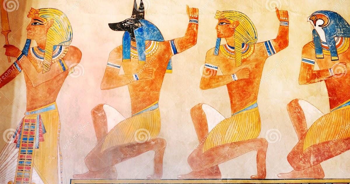 39 Bilder ägyptische Götter - Besten Bilder von ausmalbilder