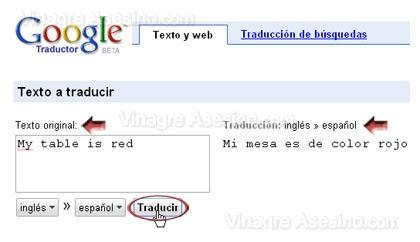 traductor google Traductor Google