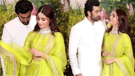 Alia Bhatt And Ranbir Kapoor Enter Together At Sonam