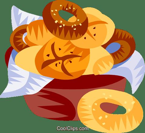 ドイツパンやロールパン ロイヤリティ無料ベクタークリップアート