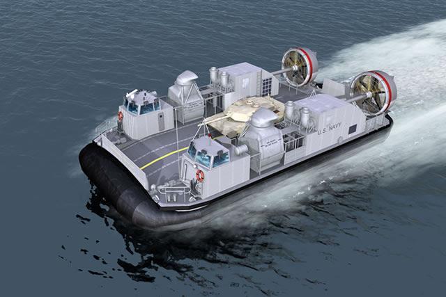 La Armada de Estados Unidos otorgó el 28 de agosto 2014 A $ 21,9 millones de la modificación de un contrato previamente otorgado para la construcción de la lancha de desembarque, colchón de aire (LCAC) 101 del programa-buque-tierra del conector (SSC).